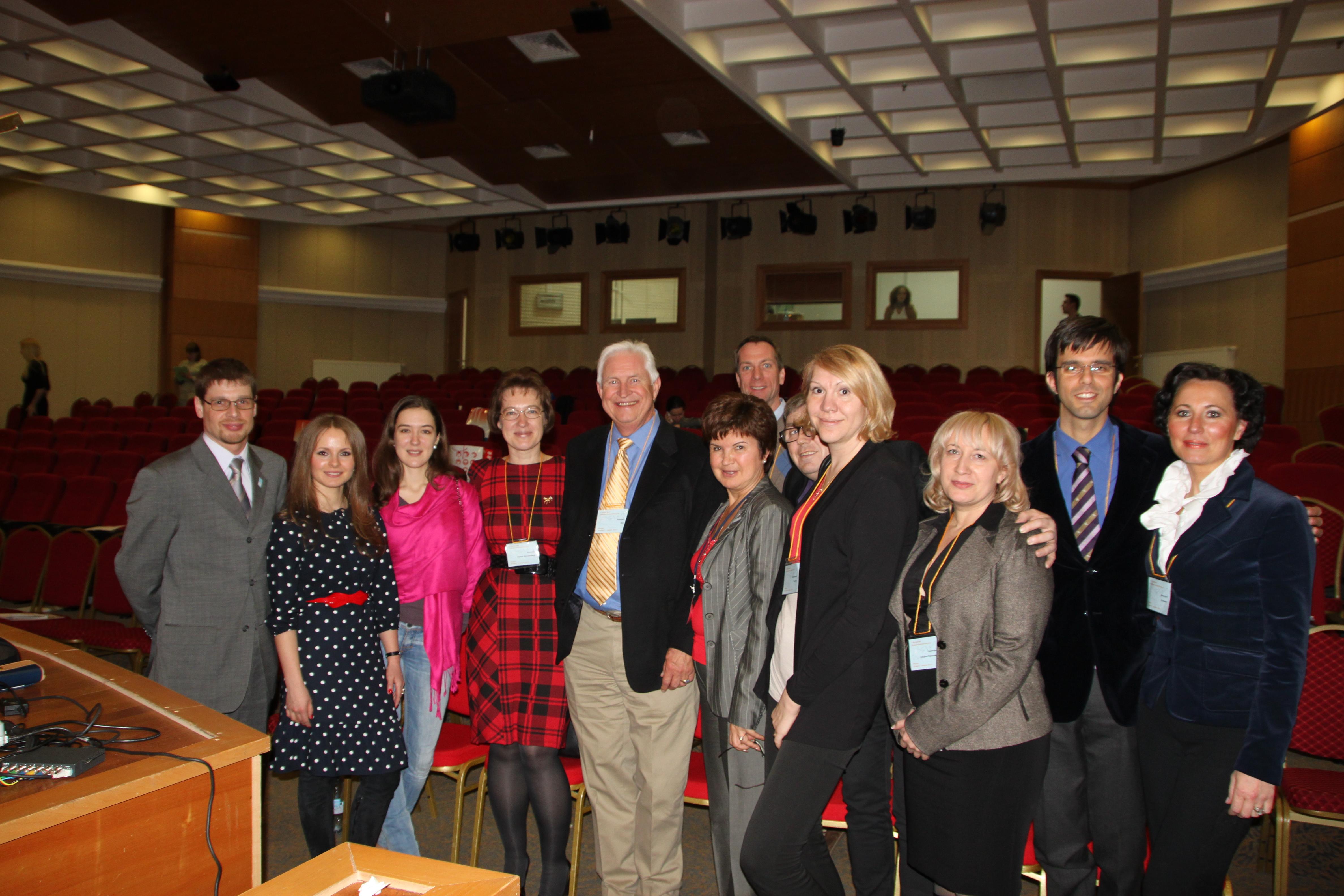 Организаторы и лекторы московского эндодонтиеского конгресса 2013