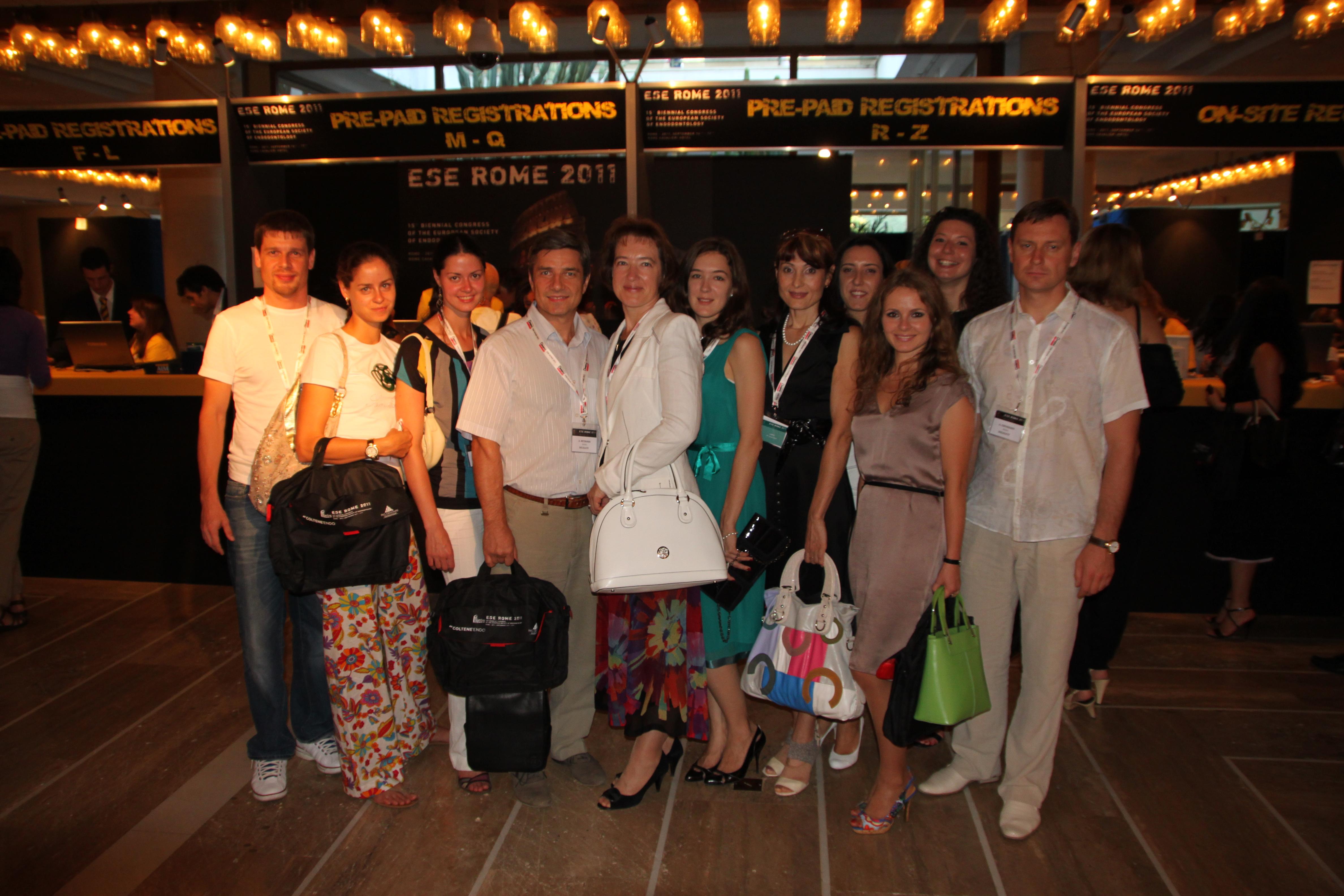Эндодонтический конгресс в Италии 2011